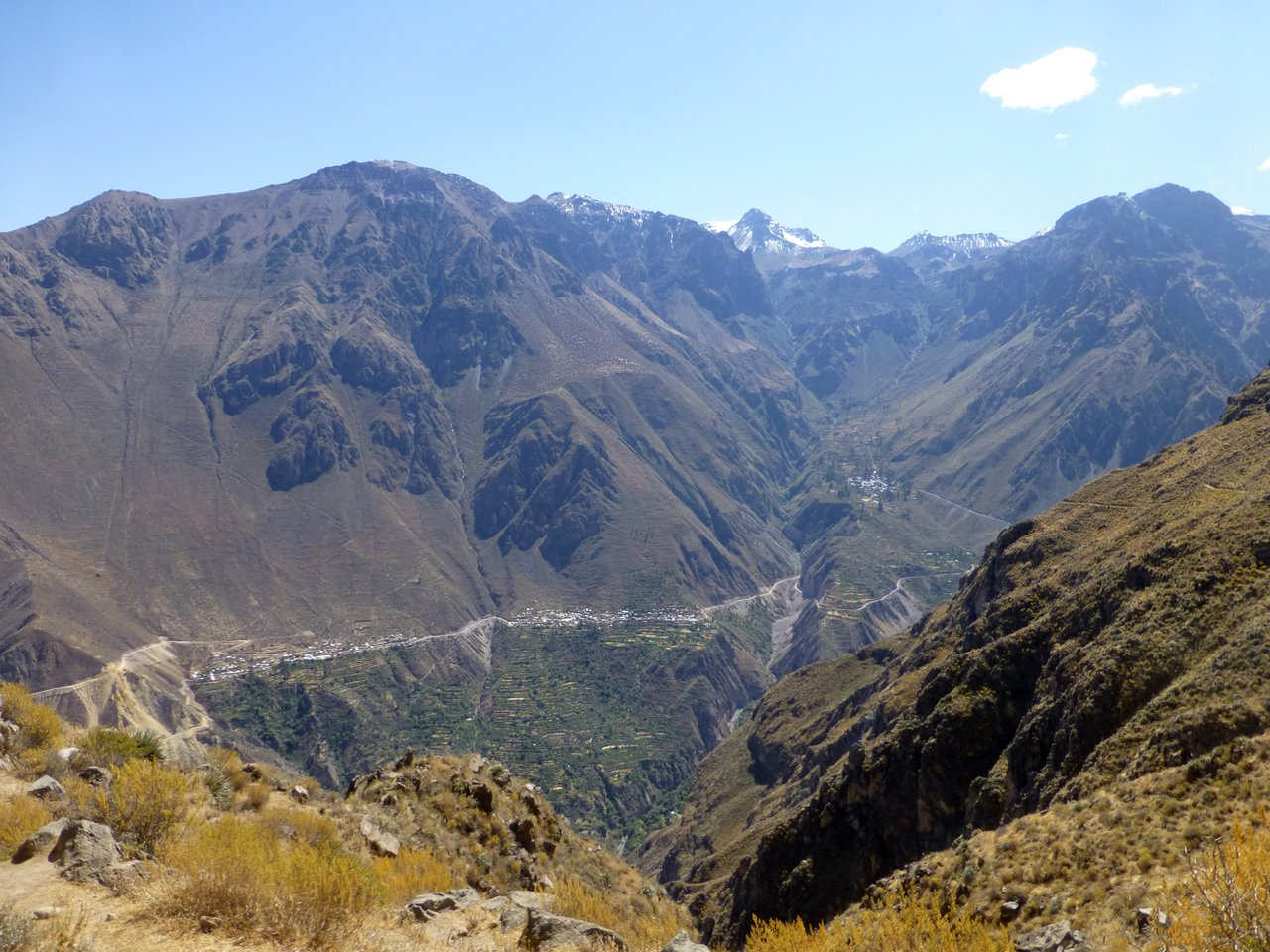 canyon del colca trekking: panorama