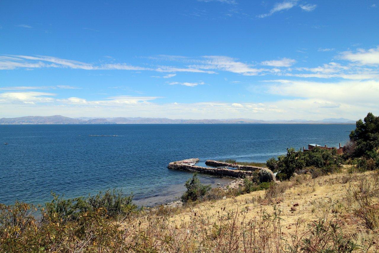 lago titicaca fai da te: il panaorama a llachon