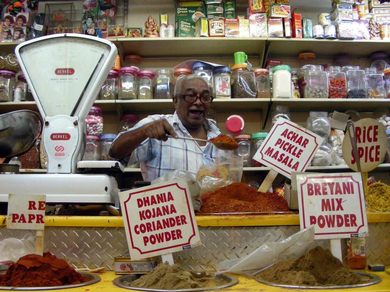 sudafrica itinerario: il mercato di durban