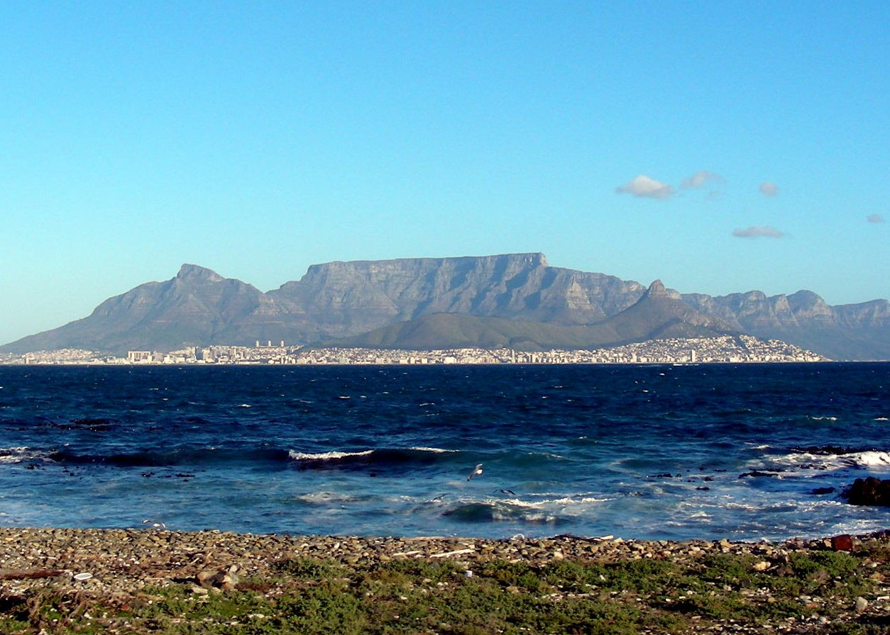 sudafrica itinerario: la Table Mountain