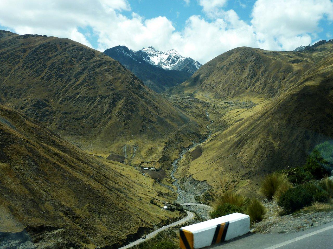 Machu Picchu low cost: veduta da Abra de Malaga