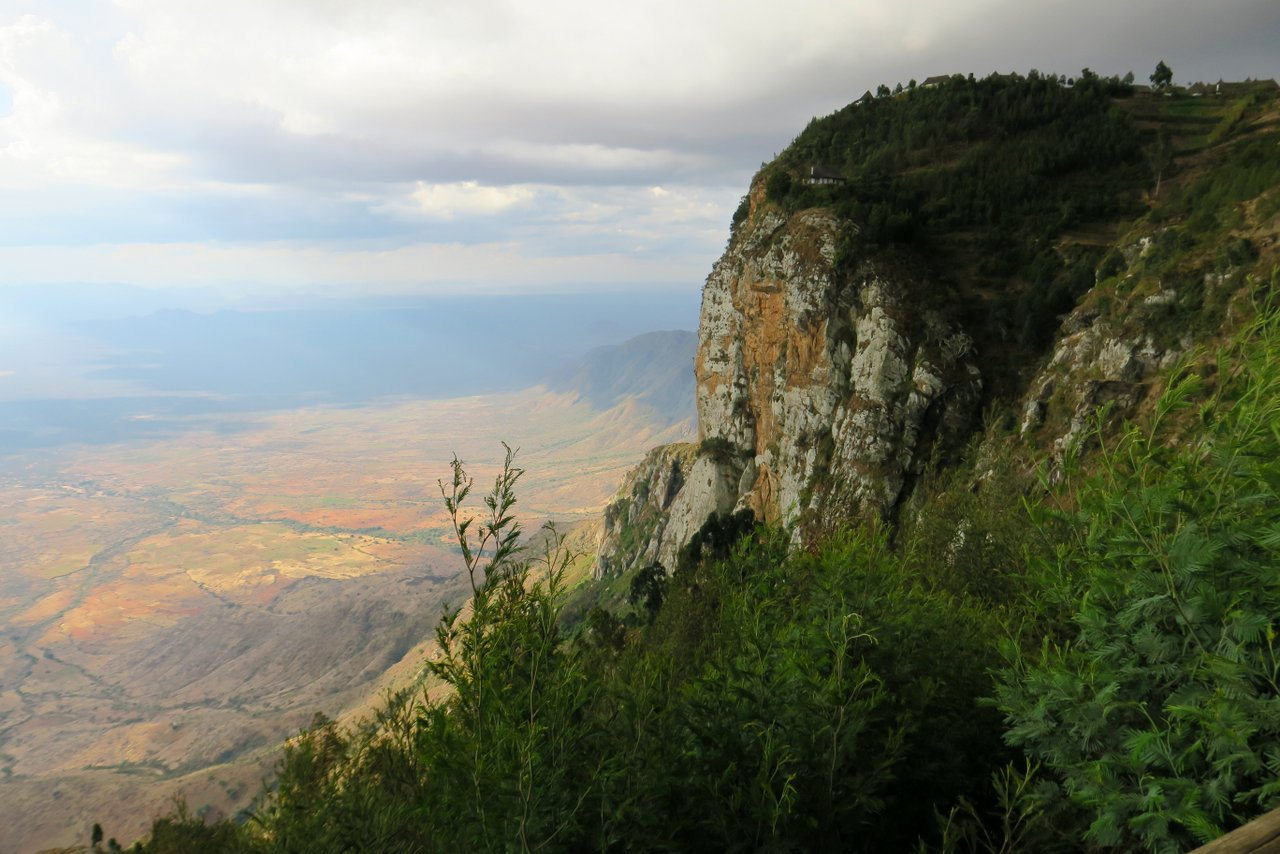 tanzania itinerario fai da te. Vista da Mambo Cliff, Usambara