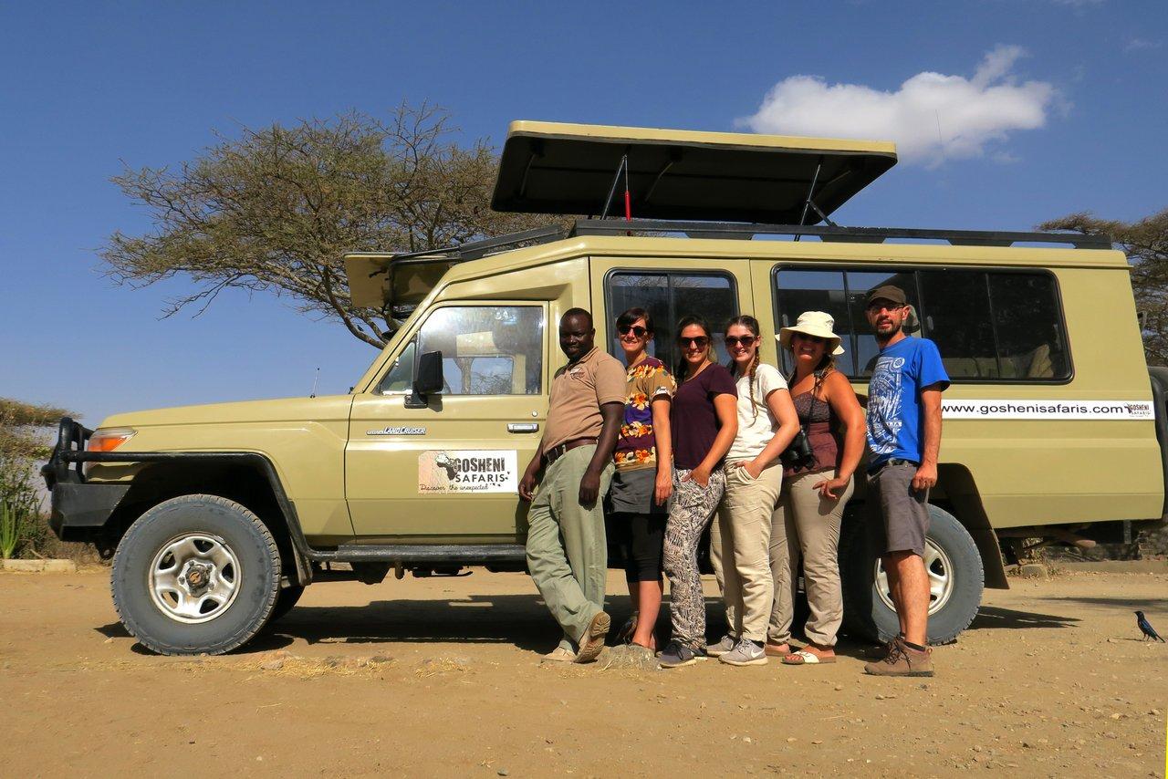 tanzania itinerario fai da te. Safari nei parchi del nord