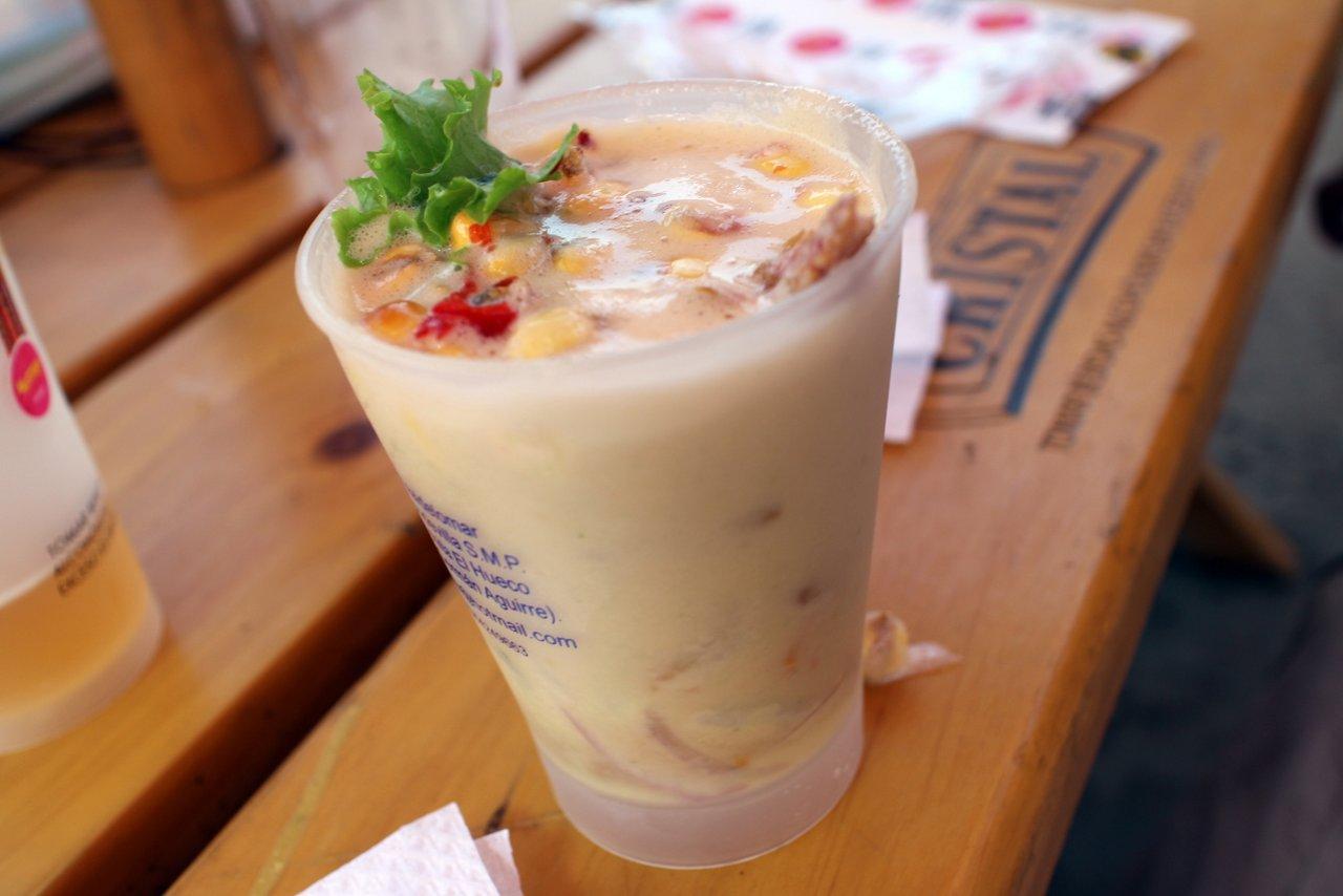 mistura fiera gastronomica: leche de tigre
