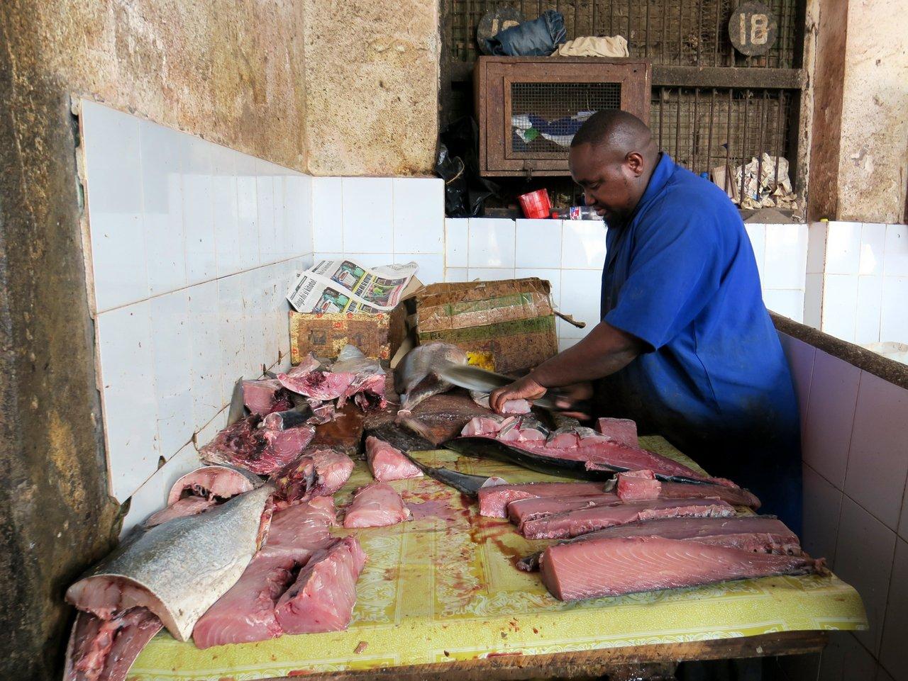 il mercato di zanzibar