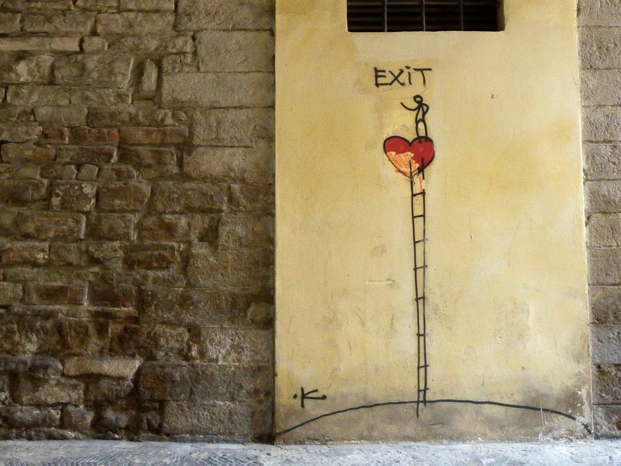 due giorni a firenze: street art a firenze Exit Enter