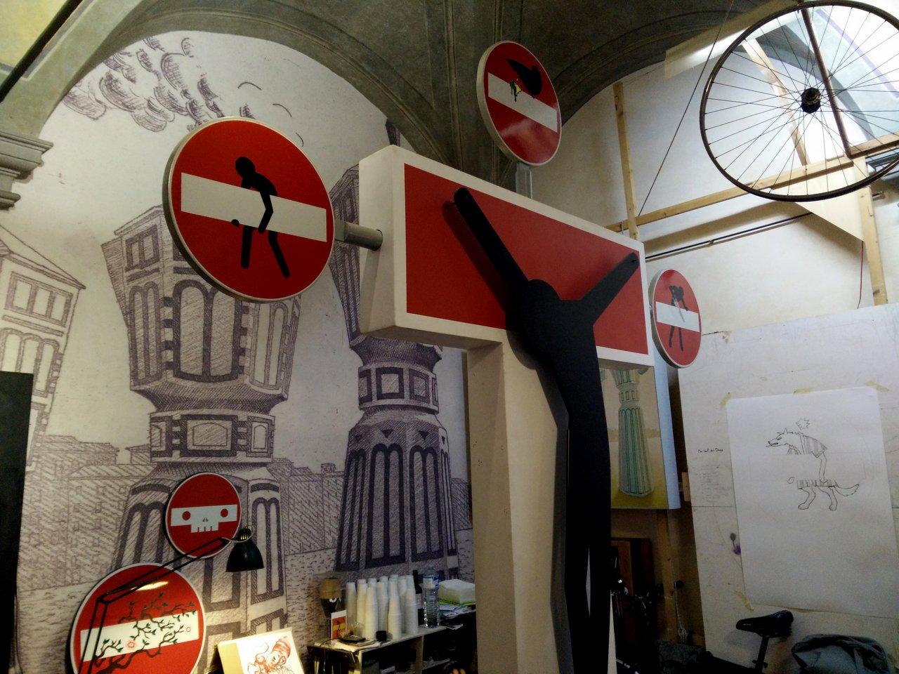 due giorni a firenze: street art a firenze Clet