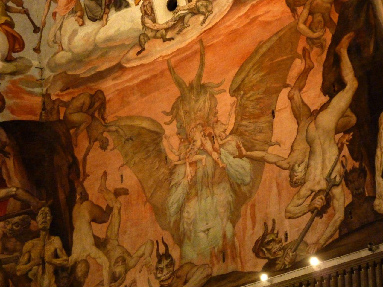 due giorni a firenze: L'inquietante Inferno di Brunelleschi