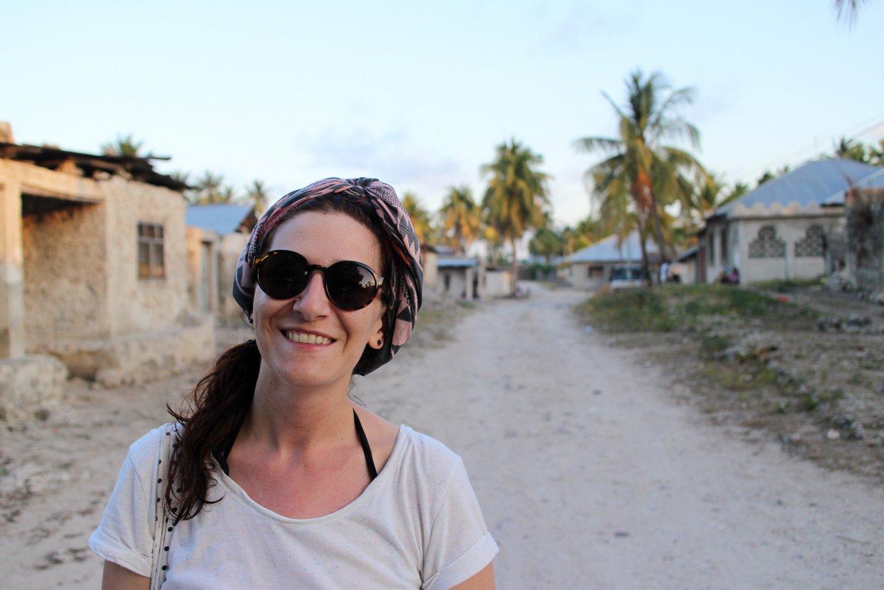 jambiani zanzibar: arrivo