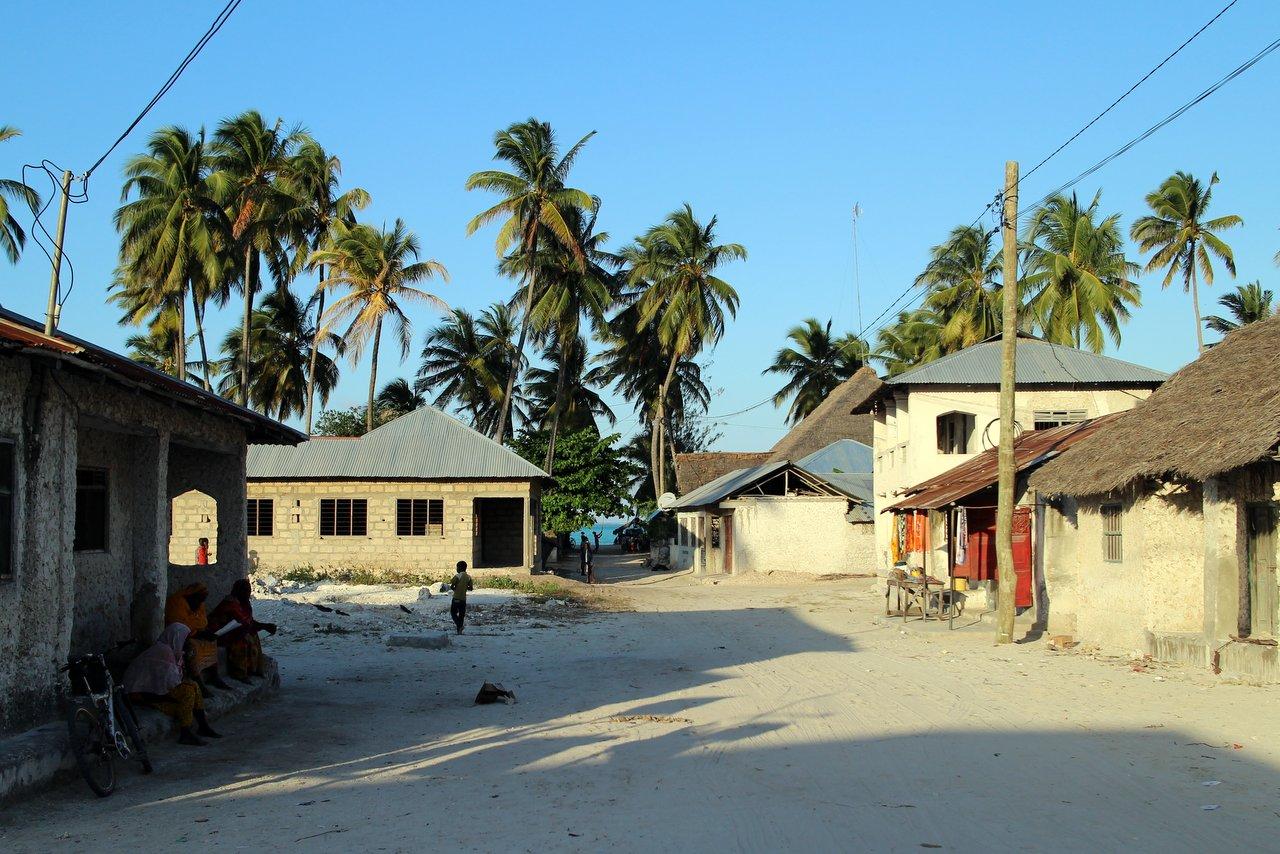 jambiani zanzibar: il villaggio