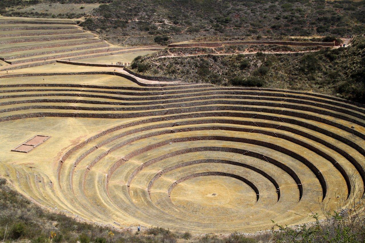 tour della valle sacra: i terrazzamenti di moray