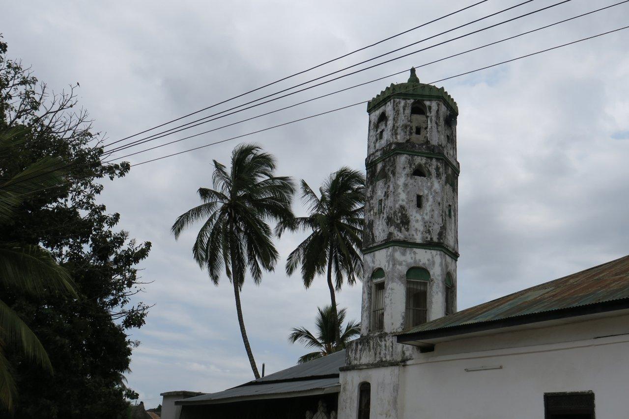 cosa vedere a bagamoyo: la moschea