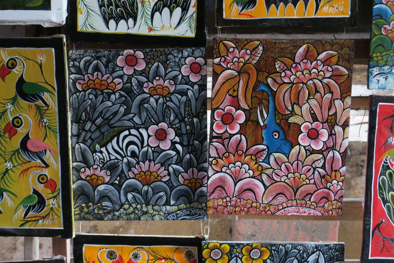 cosa vedere a Bagamoyo: mercato degli artisti
