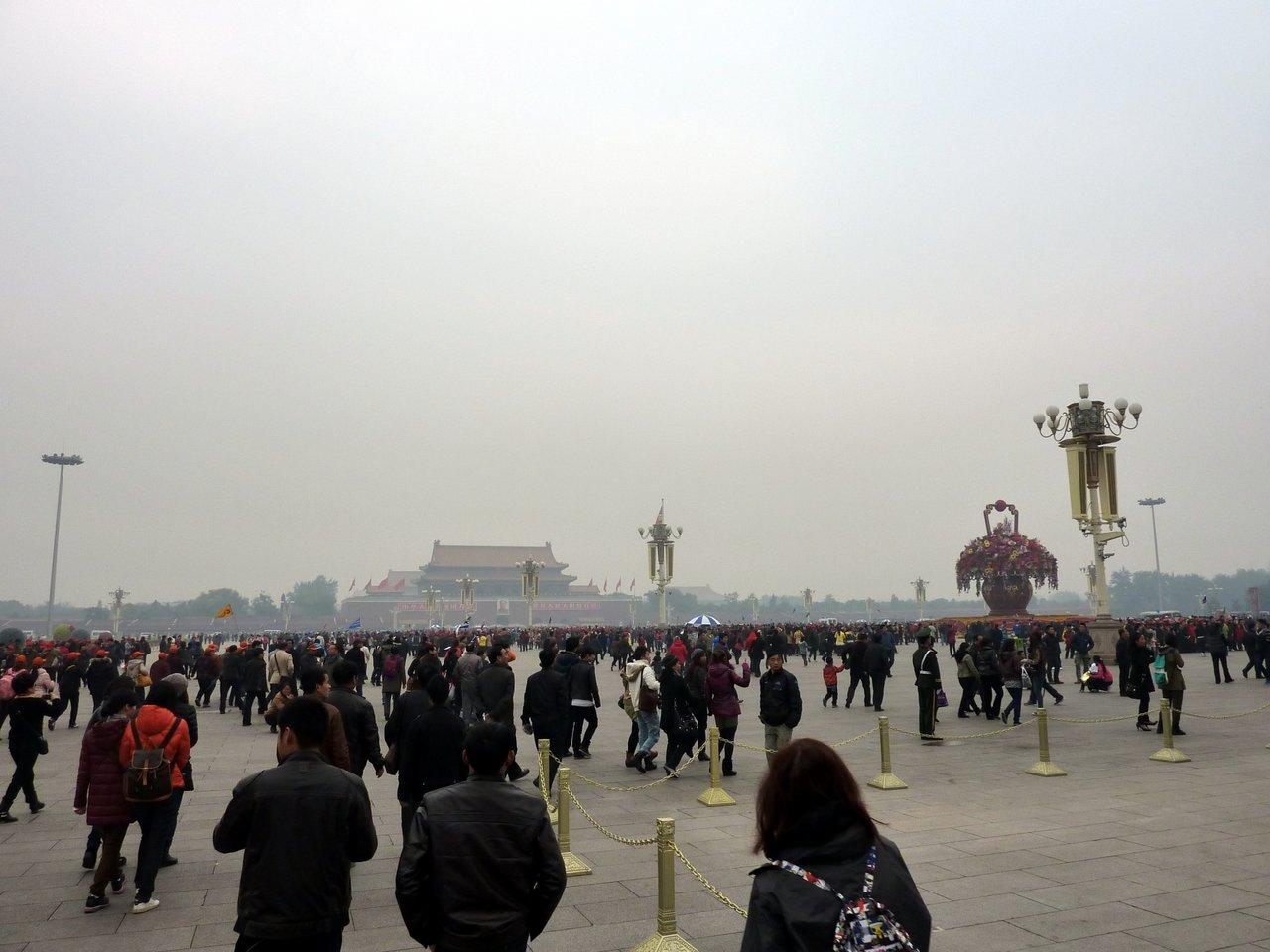 itinerario di quatto settimane in cina: Piazza Tienanmen