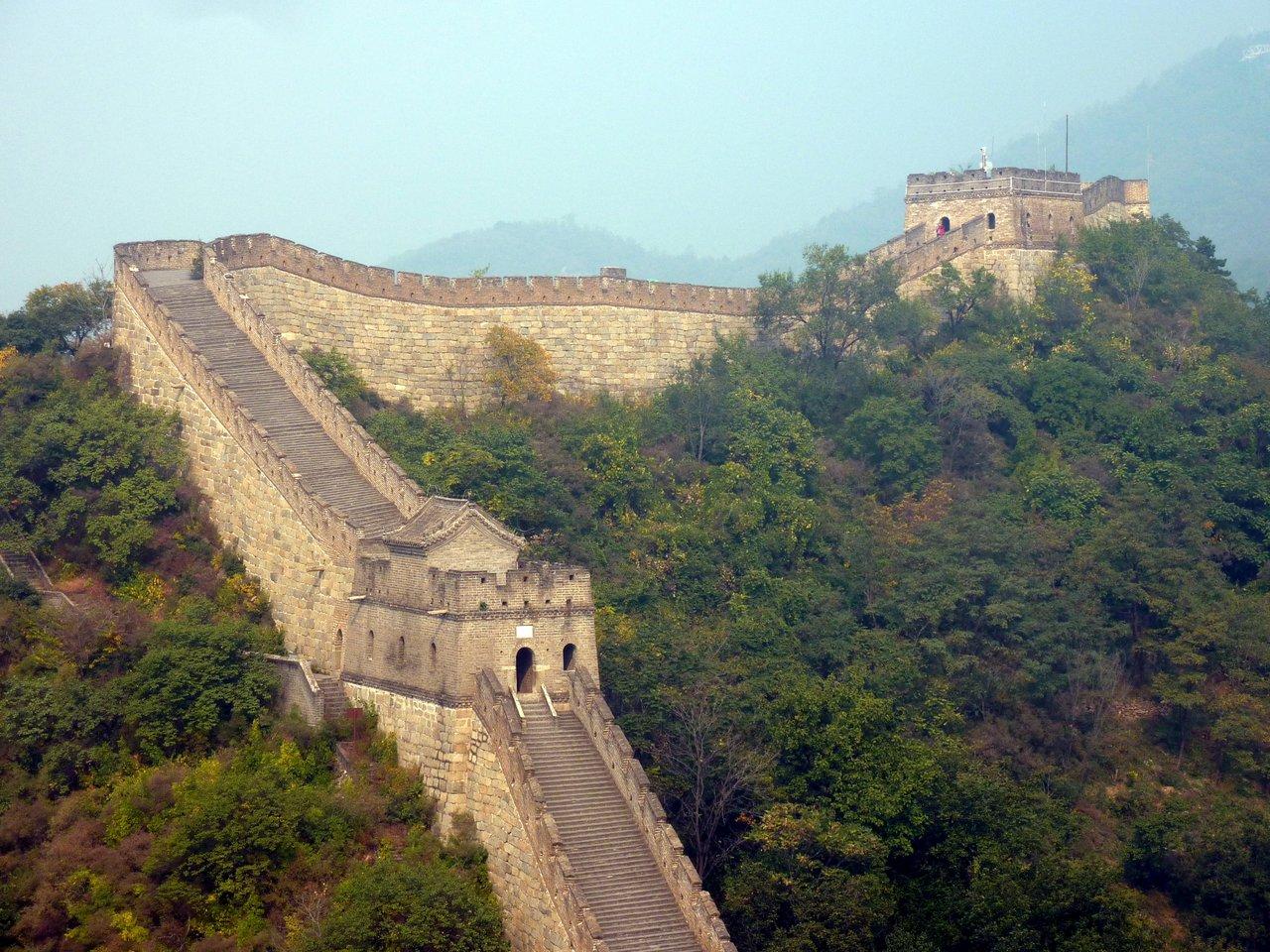 itinerario di quatto settimane in cina: la grande muraglia a mutianyu