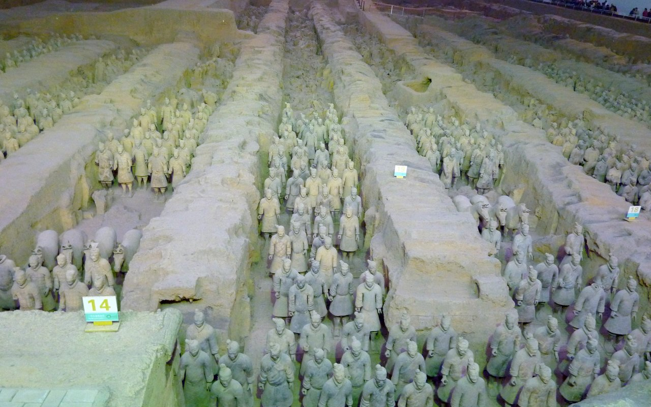 itinerario di quatto settimane in cina: esercito di terracotta