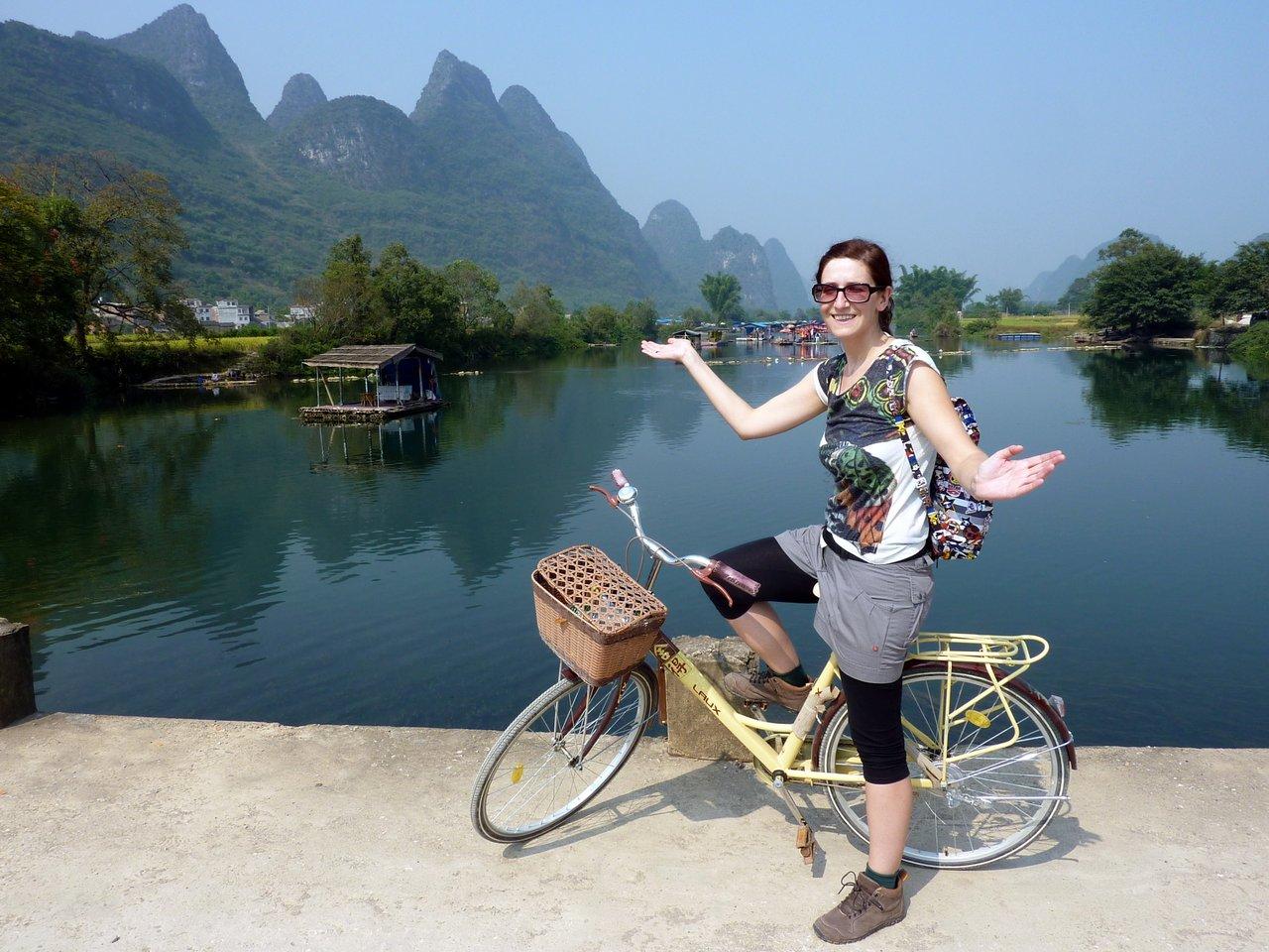 itinerario di quatto settimane in cina: In bici a Yangshuo
