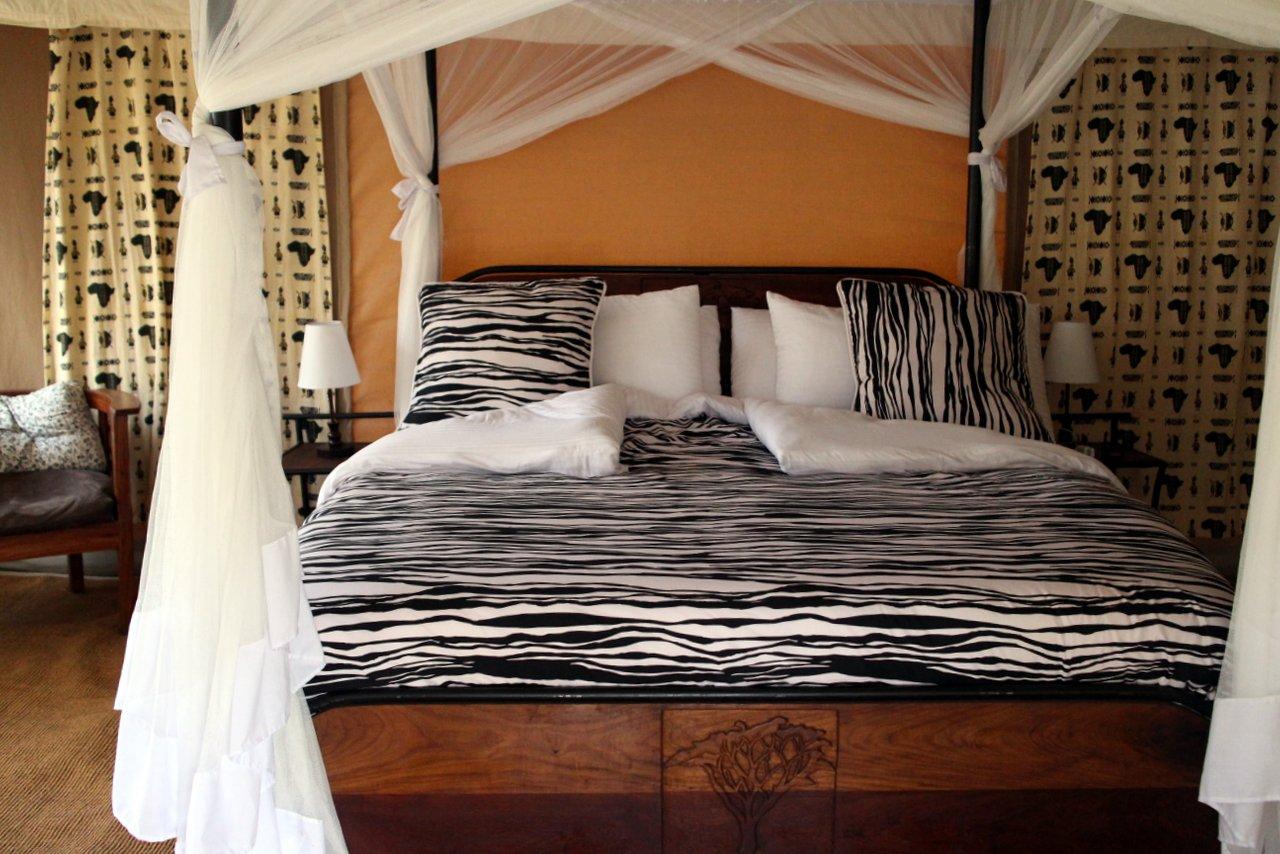 organizzare un safari in tanzania: La nostra camera nel campo tendato del Serengeti