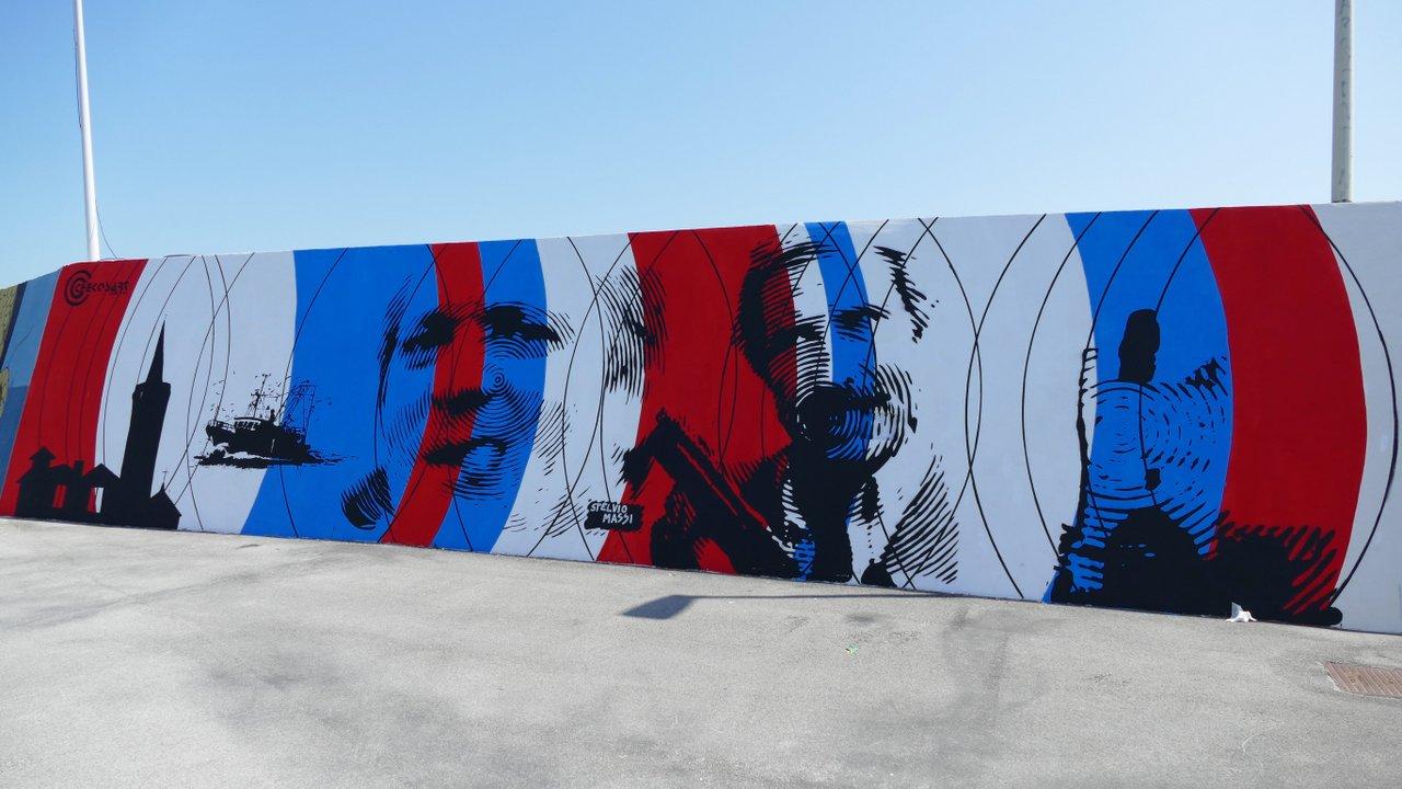 street art civitanova marche: opera di Chekos Art