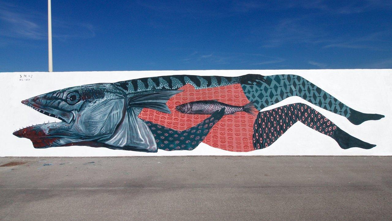 street art civitanova marche: opera di Nicola Alessandrini e Lisa Gelli