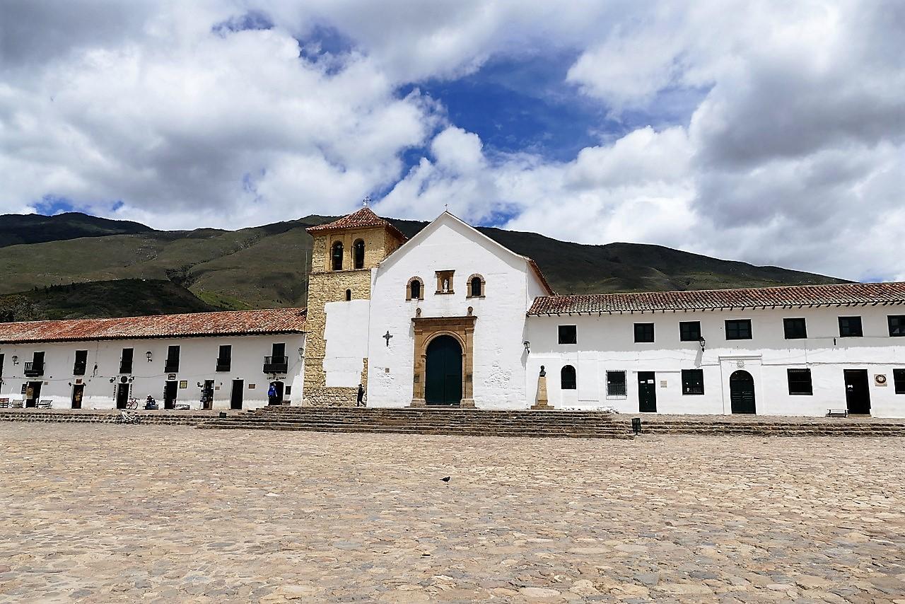 itinerario di tre settimane in colombia: La piazza di Villa de Leyva