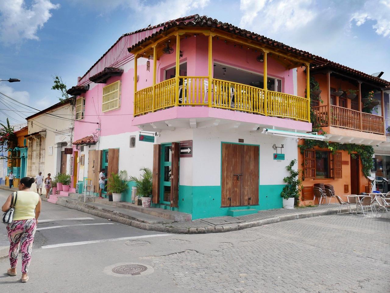 itinerario di tre settimane in colombia: Il quartiere Getsemani a Cartagena