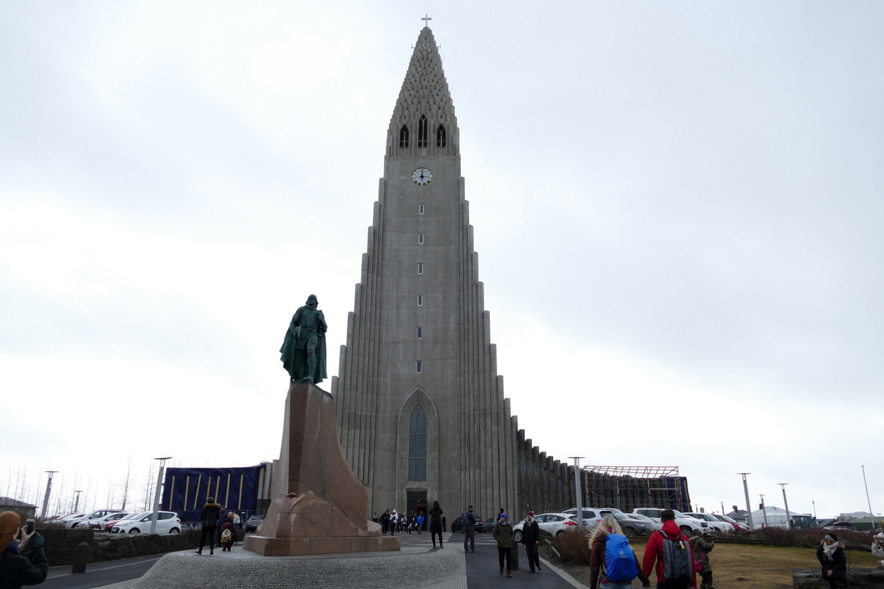 reykjavik in un giorno - la cattedrale