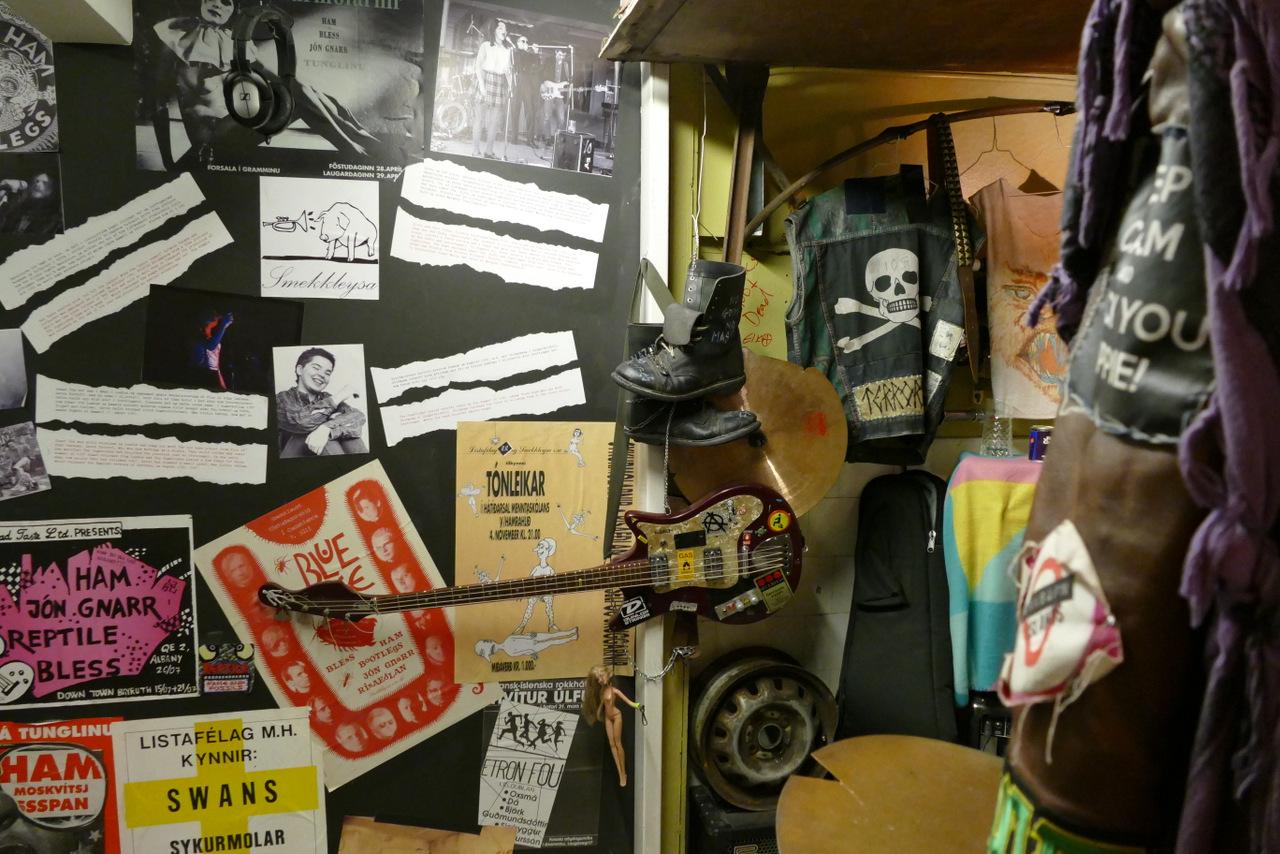 reykjavik in un giorno - il museo del punk