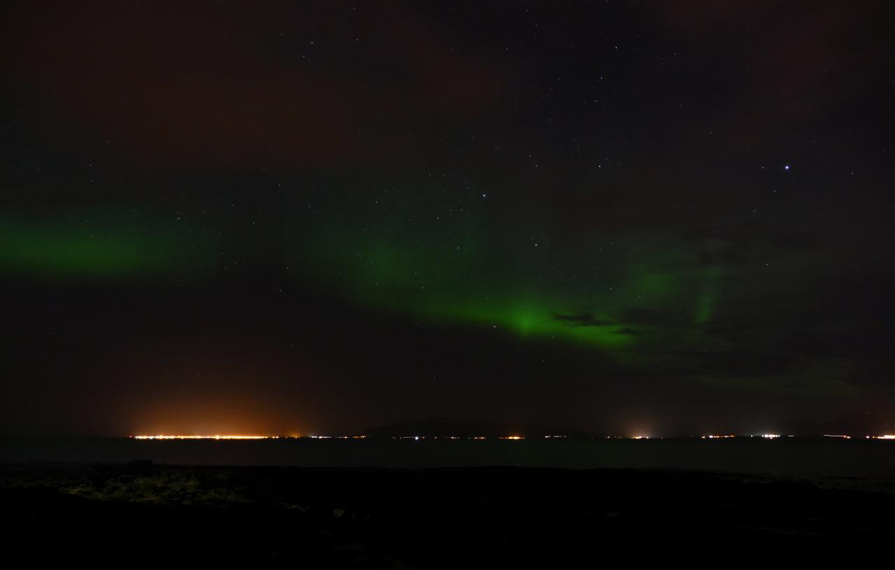 reykjavik in un giorno - aurora boreale
