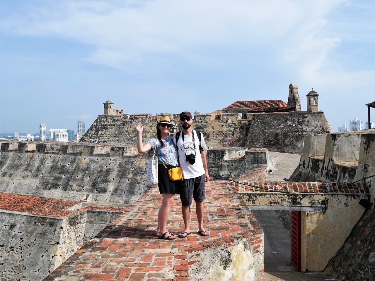 cartagena colombia: al castillo di san felipe
