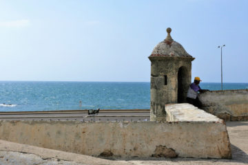 cartagena colombia: le mura