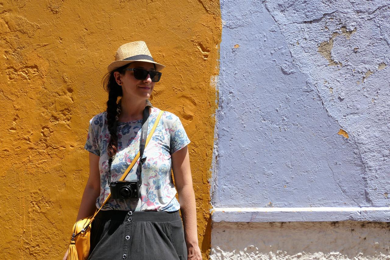cartagena colombia: paola nella città vecchia
