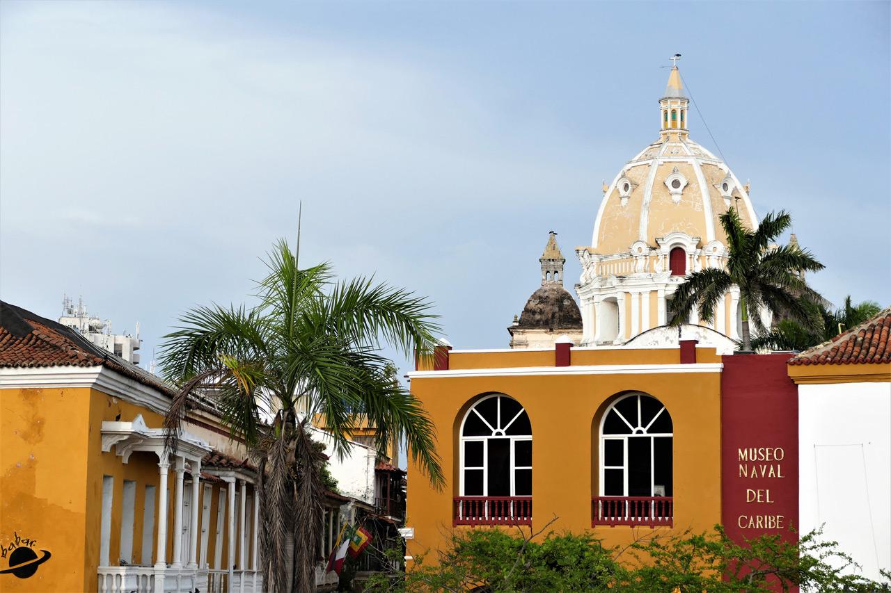 cartagena colombia: vista della città vecchia