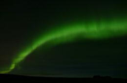 islanda golden circle: aurora boreale
