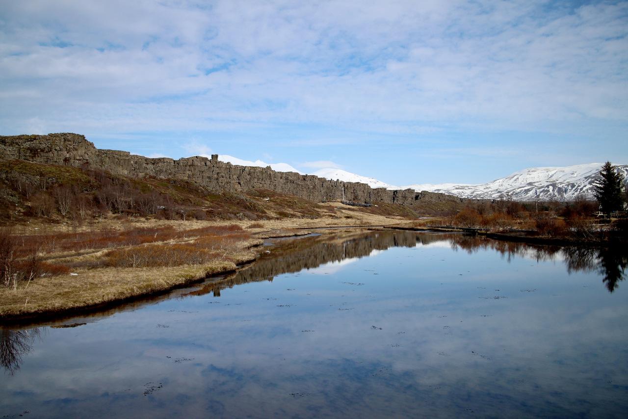 islanda golden circle: Riflessi a Þingvellir