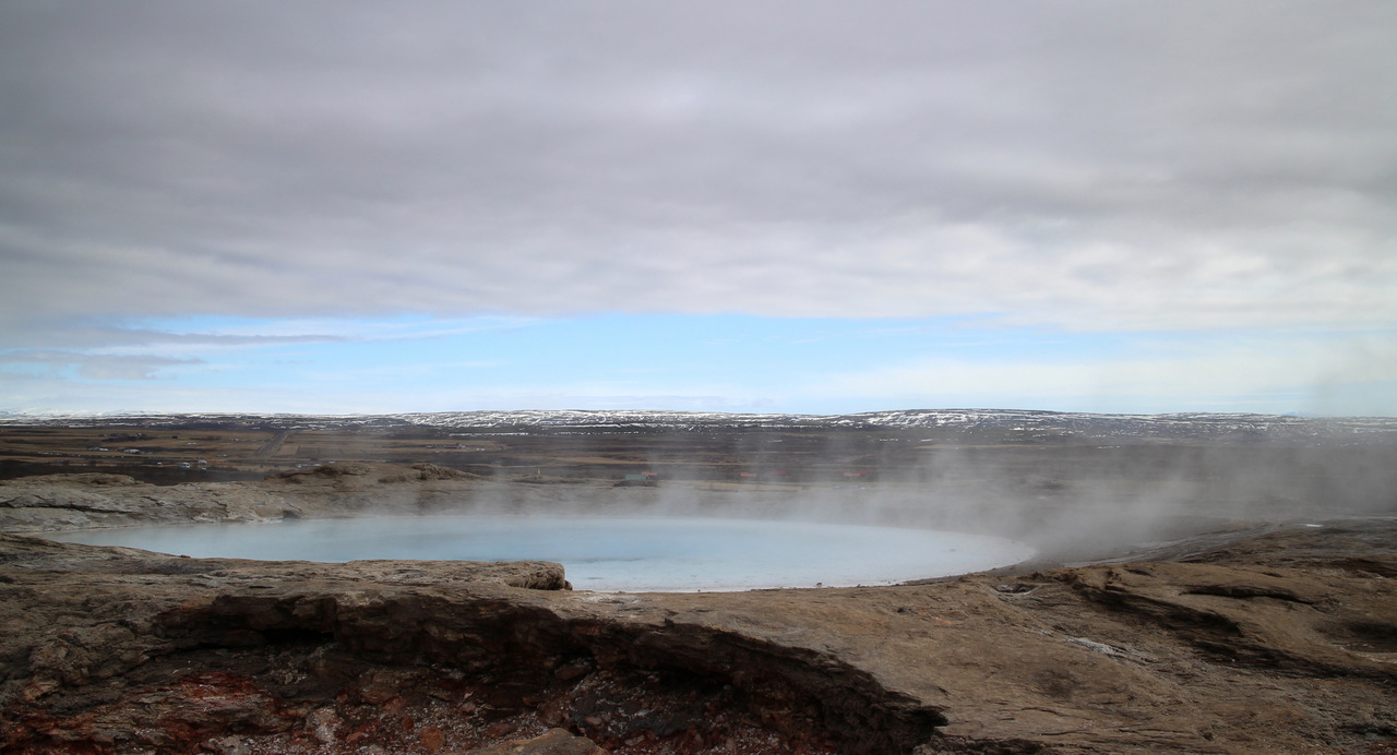 islanda golden circle: geysir