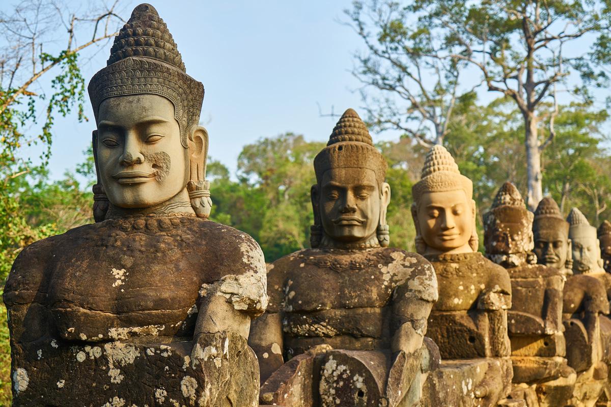 Tempio di Angkor Wat, Cambogia - foto freepik.com