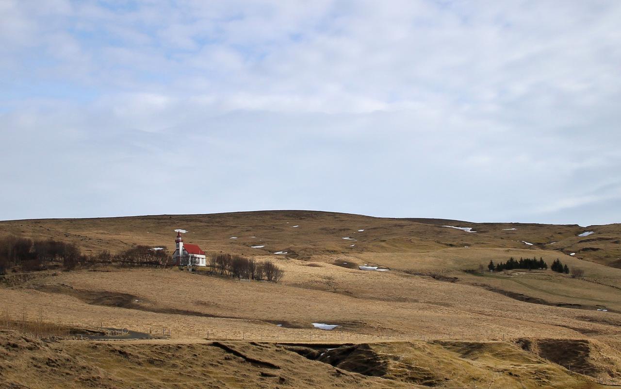 islanda del sud: camapagna di Fljótshlíð