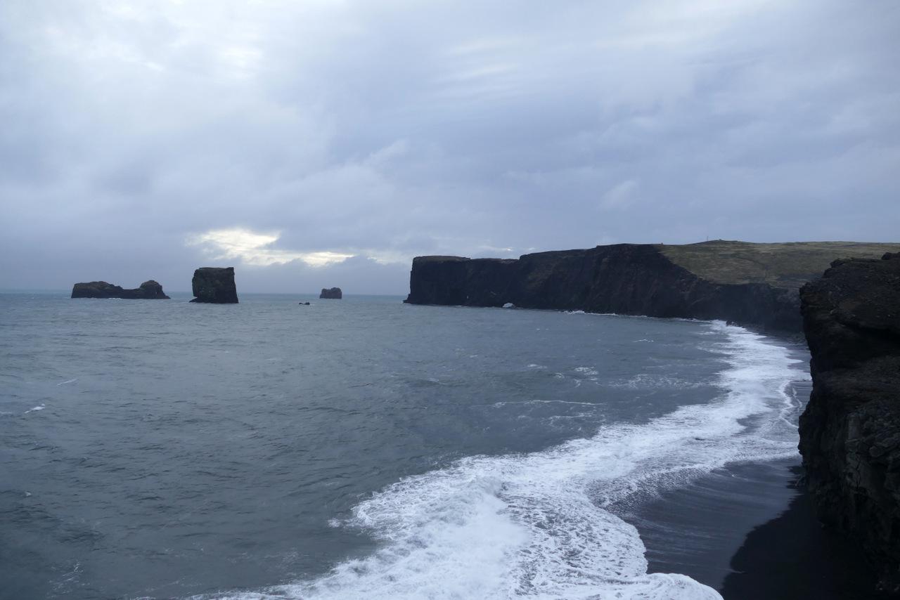 islanda del sud: scogliera di Dyrhólaey