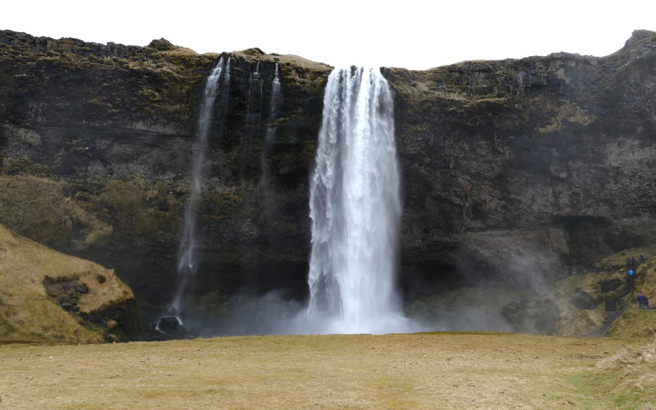islanda del sud: cascata Seljalandsfoss