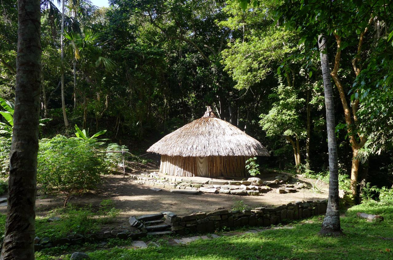 pueblito-escursione-colombia: villaggio