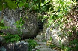 pueblito-escursione-colombia: sentiero