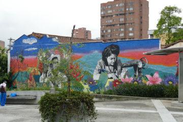 Street art a Medellin: El Poie, Raronica