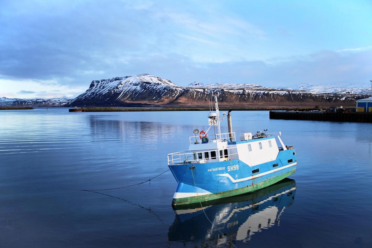 penisola di snaefellsness: porto