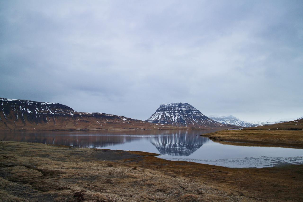penisola di snaefellsness: montagna di Kirkjufell