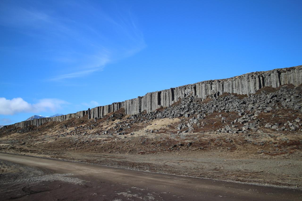 penisola di snaefellsness: muro di gerduberg