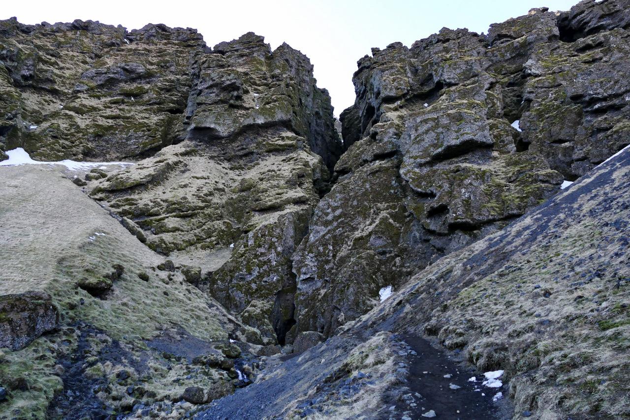 penisola di snaefellsness: canyon di Raudfeldsgja