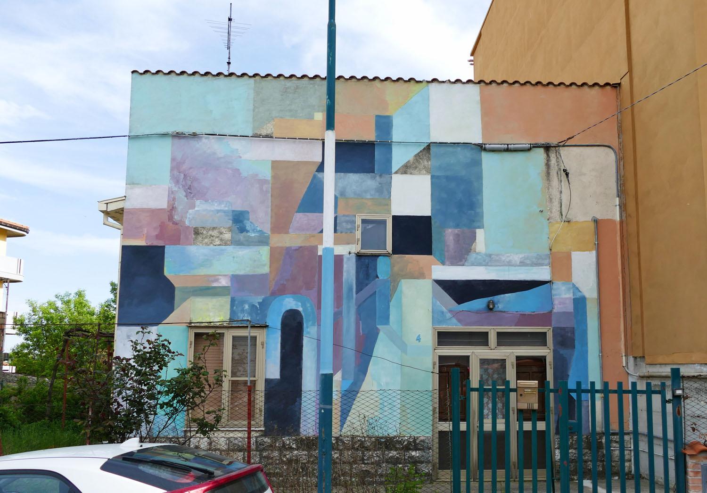Street Art a Santa Croce di Magliano: Nelio