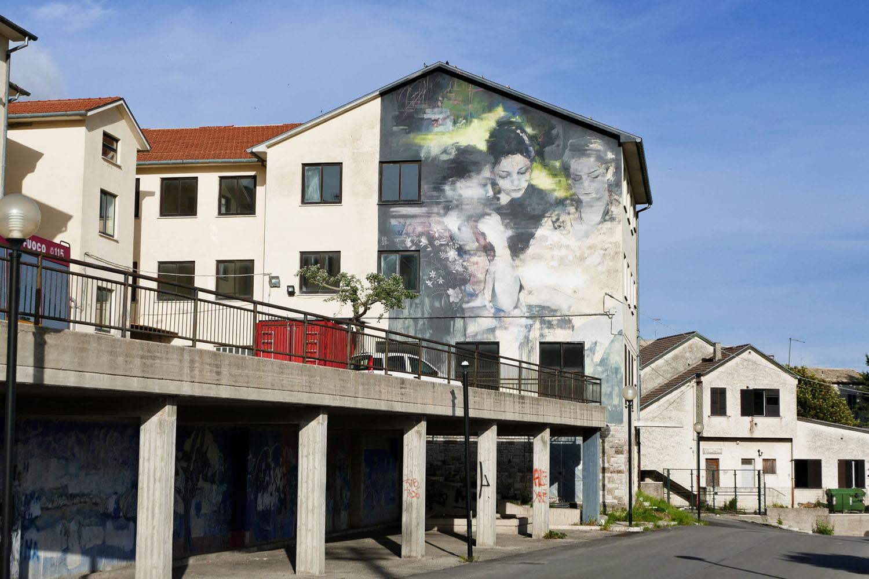 Street Art a Santa Croce di Magliano: El rencuentro di Francisco Bosoletti