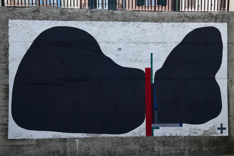 Street Art a Santa Croce di Magliano: Un altro muro di 108